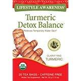 Lifestyle Awareness, Turmeric Detox Balance, Caffeine Free, Organic, 20 Count / 2 Pack