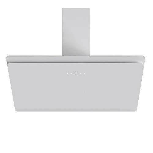 VLANO MIRA 900 WH / * EEK A+ * / Kopffreie Dunstabzughaube / 90 cm/weiß Glas Design/Touch Control/ECO LED / 43 dB (A) / Extra leiser Brushless Motor/Abluft/Umluft / (90 cm) - 3