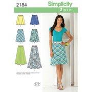 Simplicity Schnittmuster 2184 Röcke Damen Gr. 36-44