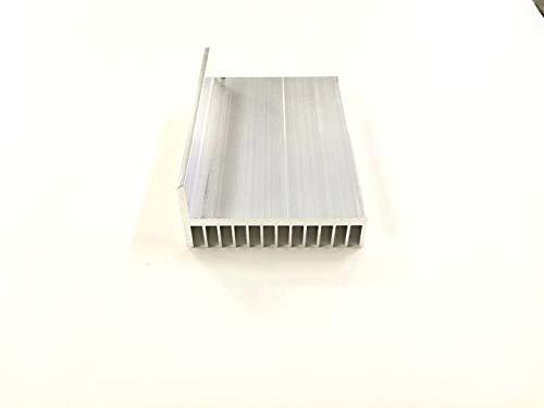 weichuang Electronic Accessories - Radiador de disipador de calor en forma de L (101,5 x 49 x 100 mm) para proyectos RPi, piezas electrónicas y accesorios electrónicos (color: blanco)