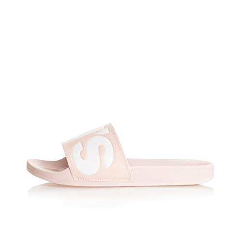 Levi's June L S, Chanclas Mujer, Rosa (Light Pink 81), 38 EU