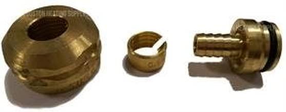 Rehau 267507-101 3/8 Inch Raupex X R-20 Brass Manifold Outlet