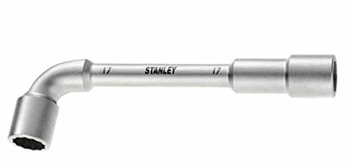 Stanley Gebogener Steckschlüssel (6x12-Kant, 32 mm, 330 mm Länge, Maxi-Drive Profil, entspricht ISO 2236) 1-13-390