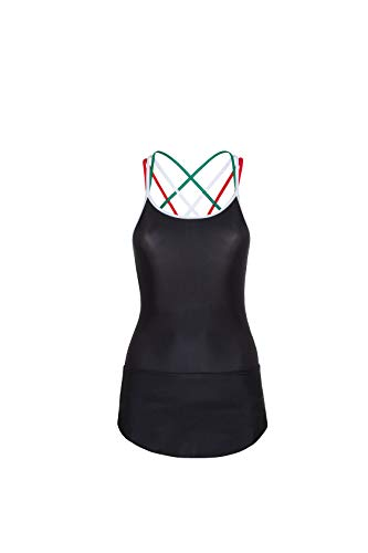 Dueforyou trainingspak O Competition van Lycra® met bandjes in de kleuren van de Italiaanse vlag