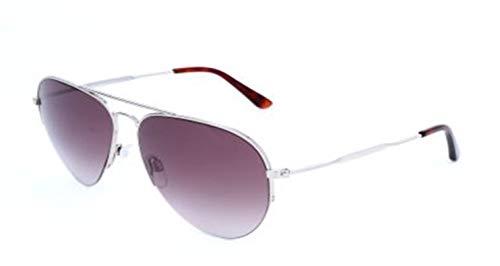 Balenciaga BA0125 16T-58-14-145 Balenciaga zonnebril BA0125 16T-58-14-145 Aviator zonnebril 58, zilver