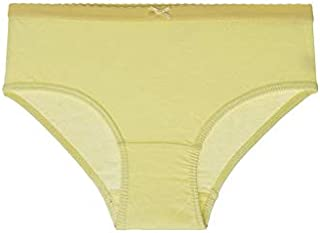 Mariposa Women's Cotton Outer Elastic Plain Panty In Butterfly Collection