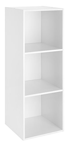 Whitmor Cube Organizer 3-Section, White
