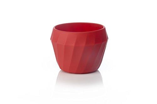 humangear FlexiBowl umwandelbare Silikon-Schüssel (680 ml), Rot