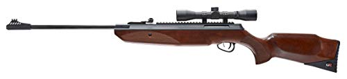 Umarex Forge Break Barrel .177 Caliber Pellet Gun Air Rifle - Includes 4x32mm Scope and Rings, 490 fps (No Silencing Device)
