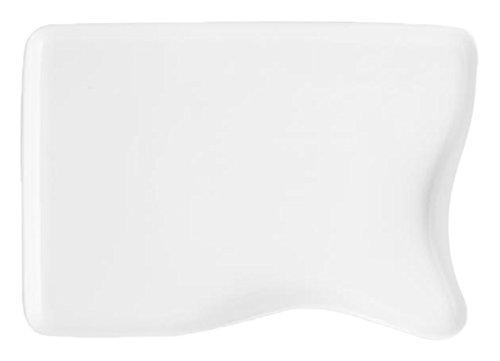 HOTELWARE Plat moulé, 25 x 16 cm, Porcelaine, Blanc