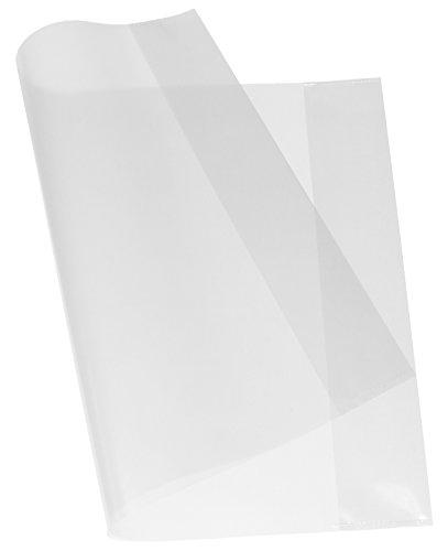 Stylex 5 Heftumschläge Din A5 Klein in Transparent