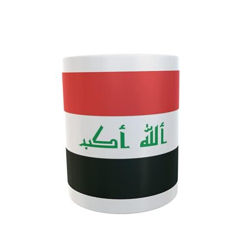 U24 Tasse Kaffeebecher Mug Cup Flagge Irak