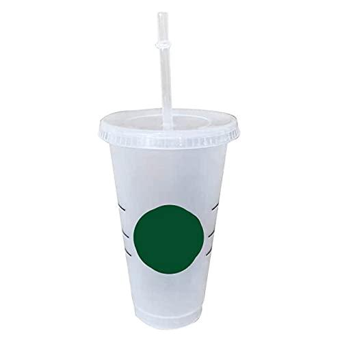 Tazza Da Caffè Da 700 Ml / 47 Litri Con Coperchio Con Logo Bicchieri Che Cambiano Colore Bicchieri Riutilizzabili Bicchiere In Plastica Finitura Opaca Bicchieri In Plastica Riutilizzabili