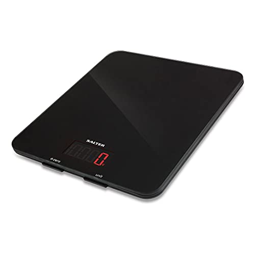 Salter 1160 BKDR Glass Electronic Digital Kitchen Scales