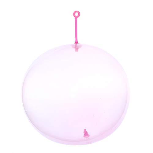 El Increíble Resistente Al Desgarro 25Cm Wubble Bubble Ball Niños Juguetes Inflables Juguetes Al Aire Libre Playa Jugar Juguete Rosa