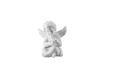 Rosenthal - Engel mit Taube - klein - Porzellan - matt weiß - Ø 6 cm