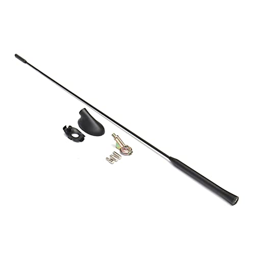 Rose flower YUshuiL Am/FM Radio Antena Antena Antena Antenas ANALES MAST + Kit Base FIT FOR Ford Focus Modelos 2000-2007 XS8Z-18919-AA YSL (Color : Black)