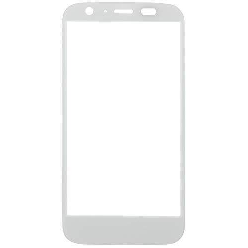 GBHGBH Reemplazo de Lente de Vidrio Exterior de Pantalla Frontal for Motorola Moto G / XT1032 (Color : Blanco)