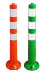 ポールコーン 「ソフトコーンH」 高さ465mm コンクリート用/オレンジ