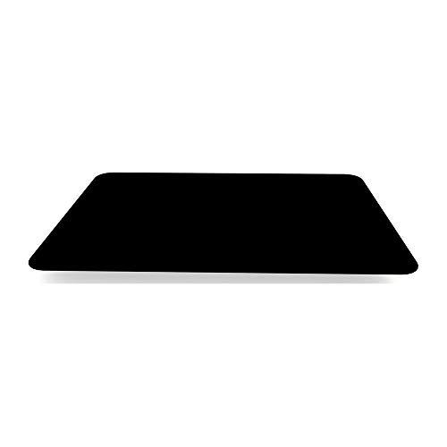 Ornamin Tischset Antirutsch 40 x 28 cm schwarz | Platzset mit spezieller Antirutsch-Beschichtung auf der Ober- und Unterseite | Anti-Rutsch-Matte