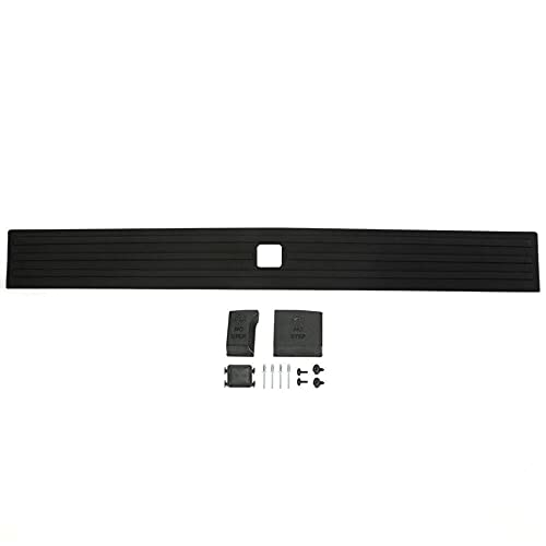 Speedmotor Rear Center Flexible Flex Step Tailgate Cap Pad Molding Trim with Release Button Compatible for Ford F-150 2015-2020 (Will NOT FIT Super Duty) FL3Z9940602B