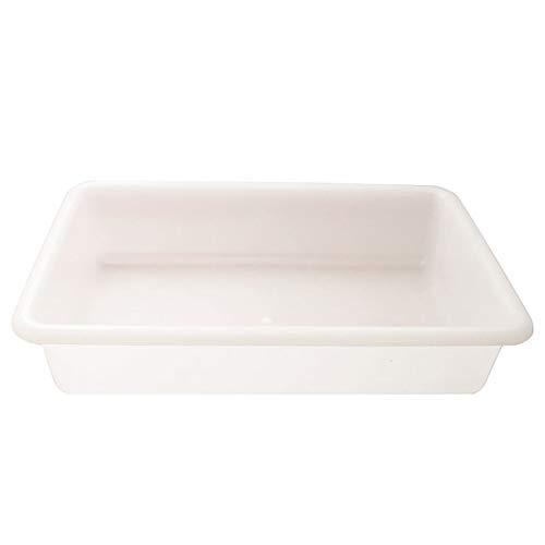 PLASTIC FORTE, Bandeja para hosteleria, Blanco, 6 litros, Hosteleria