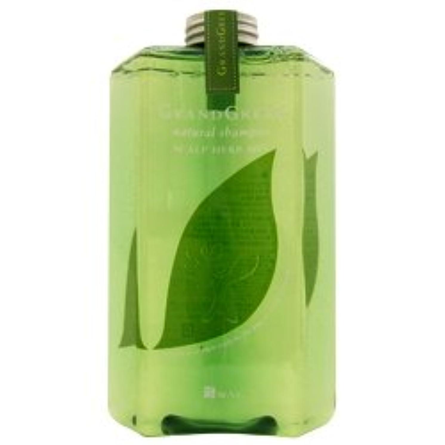 バナナバルコニーポンドニューウェイジャパン グラングリーン ナチュラルシャンプー 560ml  ポンプ付 NewayJapan
