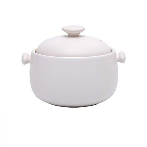 DJDLLZY Cazuela de cerámica Casserole Utensilios de Cocina Premium Cerámica Cerámica Caliente Bibimbap Stone Tazón Terreno Casserole