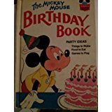 M MOUSE BIRTHDAY BOOK (Disney's Wonderful World of Reading ; 44) - Book #44 of the Disney's Wonderful World of Reading