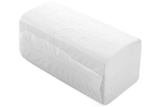 YOUMAR - Toallas Secamanos de papel TISSUE RECICLADO 2 capas con plegado Zig-Zag (4000 uds)