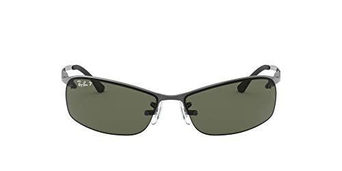 Ray-Ban MOD. 3183 Ray-Ban Sonnenbrille MOD. 3183 Wrap Sonnenbrille 63, Silber