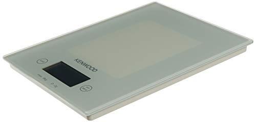 Kenwood 0WDS401001 Küchenwaage digital, Glasausführung, 531 g