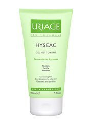 Uriage Hyseac Gentle Cleansing Gel 150 Ml. / 5 Fl.oz by Uriage France [Beauty] (English Manual)