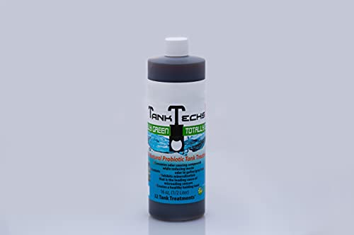 TankTechsRx - RV Holding Tank Treatment & Cleaner - 16 Ounce = 32 Treatments - All Natural Probiotics for RV, Marine, Camping, Portable Toilets