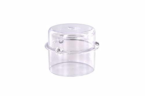 DL-pro Messbecher passend für Vorwerk Thermomix TM21 TM31 TM3300 TM5 100ml Deckel Dosierkappe Deckelöffnung