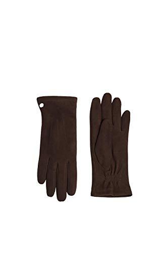 ESPRIT Accessoires Damen 119EA1R001 Handschuhe, Braun (Brown 210), 7 (Herstellergröße: 7)