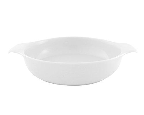 inducTHERM Coque, Porcelaine, Blanc, Porcelaine, weiß, 21.0x16.0x5.0 cm