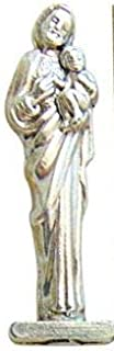 Westman Works St Joseph Home Seller Kit Metal Pocket Statue with Holy Card and Instructions