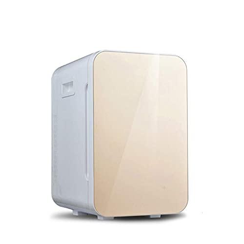 Mini refrigerador pequeño para el hogar, Mini refrigerador montado en un vehículo Pequeño Dormitorio para Estudiantes Dormitorio Alquiler de automóvil Hogar Refrigerador de insulina de Doble Uso Caja