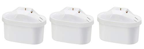 Amazon Basics - Cartucce filtranti per acqua, confezione da 3 - Fits BRITA Maxtra Jugs (not Maxtra+)
