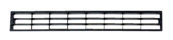 PiHaMi® Lüftungsgitter für Sockelleisten und Möbel Farbe schwarz (geeignet für Material 2-23 mm)