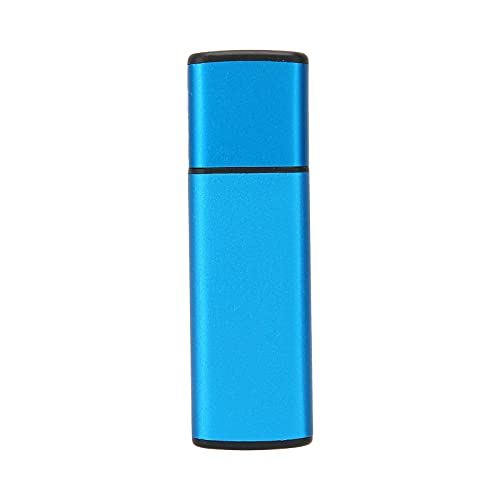 Limouyin Memoria Flash Metal Aleación de Zinc Unidad Flash USB Memory Stick de Alta Velocidad Unidad Flash de Forma Linda Pendrive Blue Rain S004 Unidad Flash USB...