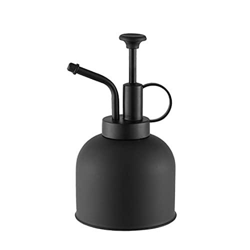 NiceCore Bevattning sprayflaska mini vinskörd handväxt stänk vattenkanna med topp värmepump för inomhus fönster bänk orkidé svart trädgårdsutrustning