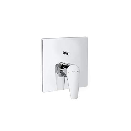"""Mezclador grifo monomando empotrable de 1/2"""" para baño-ducha con inversor automático, serie Atlas, 18 x 16 x 18 centímetros, color cromado (Referencia: A5A0B90C00)"""
