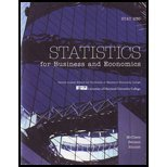 Statistics for Business and Economics Eleventh Edition + Mystatlab + Statistics for Business and Economics Eleventh Edit