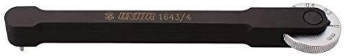 Union 2362005700 Kettenverschleißlehre, schwarz, 10 x 4 x 4 cm
