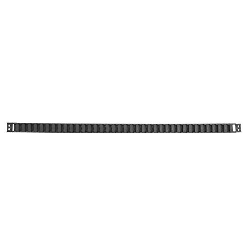 UKCOCO 15 x 30mm Plastica Towline Cable Wire Carrier flessibile nidificato Catena di trascinamento semi chiusa per macchine utensili CNC (nero, 1M)