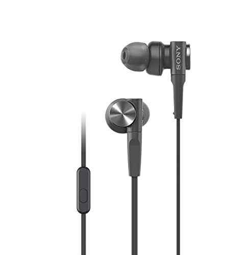 Sony MDR-XB55AP In-Ear-Kopfhörer (Extrabass, Mikrofon) Schwarz