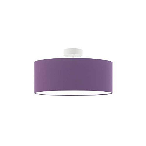 WENECJA fi - Lámpara de techo (40 cm, 3 bombillas E27), color lila