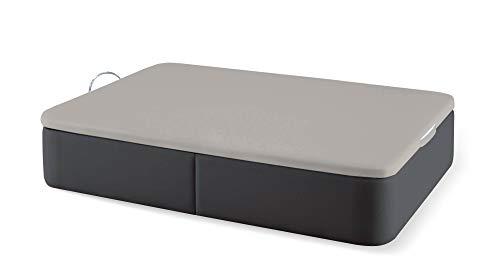 Naturconfort Canapé Abatible Tapizado Premium Color Elfos Antracita Tapa...